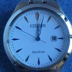 Citizen Corso White Dial Stainless Steel Ladies Watch EW2490-55A