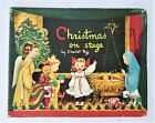 1950 vintage CHRISTMAS ON STAGE pop up Charlot Byj book angel nativity