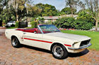 1967 Ford Mustang Convertible GT CS Tribute Stunning example 1967 Mustang Convertible GT CS Tribute 289 4 BBL Disc Brake Power Steering