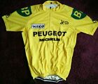 Vintage Team Miko Peugeot MICHELIN Retro Cycling Jersey