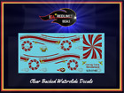 Hot Wheels 55 Chevy Candy Cane Wonderland Reproduction Decal 5555cc