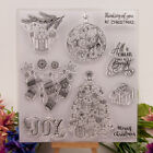 Silicone Clear Stamp Transparent Rubber Stamps DIY Scrapbook Christmas gift XR