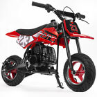 51cc 2 Stroke Gas Power Mini Pocket Dirt Bike Dirt Off Road Motorcycle Red