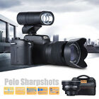 FULL HD1080P 33MP 8X ZOOM 24X Telephoto Lens Digital Camera Video Camcorder D8N1