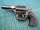 Collectible Westmoreland Black Glass Gun Revolver Original Sticker
