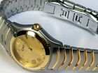 EBEL CLASSIC WAVE Women's 18K Gold/Stainless Steel Swiss Made 24mm, + Box/Papers