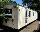 A beautiful static caravan Cosalt 35 x 10 has 3 beds in very good condition