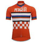 Retro Team AVC NIMES PEUGEOT Vintage Cycling Jersey