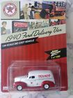 JOHNNY LIGHTNING 1/64 1940 FORD DELIVERY VAN TEXACO NEW