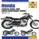 Haynes M2756 Honda CB250 Nighthawk Manual 70-1089 4201-0271 274287