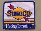 Rare Vintage Sunoco Racing Gasoline Blue Yellow Red Embroidered Patch Race Fuel