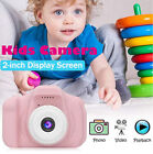 Mini HD 2.0 Inch LCD Compact Digital Camera Video For Kids Children Gift 1000mAh