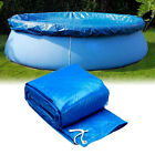 Above Ground Swimming Pool Cover for Winter Round Safety PE Blue 8 10 12 Ft