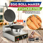 Stainless Electric Bubble Egg Cake Maker Oven Ice Cream Waffle Cone Machine