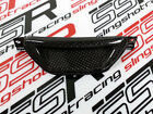 Kawasaki ZRX1100 ZRX1200 Headlight Fairing Center Air Ram Vent Carbon Fiber