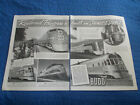 1938 BUDD ANTIQUE AD STAINLESS STEEL EDWARD GOWEN RAILROAD TRAIN READING YANKEE