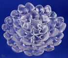 Royal Copenhagen Crystal Musling Shell Glass Bowl Designed by Per Lutkin