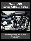 Yamaha Roadliner Stratoliner Raider Service Repair Manual S Midnight 2008-2011