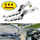 Chrome Zombie Brake Clutch Cable Lever For Honda Shadow VTX VT 600 750 1300 1100