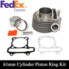 180cc Big Bore 61mm Cylinder Piston Ring kit for GY6 125cc 150cc Scooter ATV