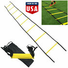 8 Rung Agility Speed Training Ladder Footwork Fitness Football Workout US