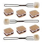 Scrapbooking Crafts Stickers Jolees Smores Forks Marshmallow Chocolate Repeats