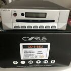 Cyrus CD 8se2 cd Player in Quartz Silver with All Accessories It Came New With I