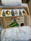 POLONAISE BY KOMOZJA WIZARD OF OZ HAND BLOWN GLASS ORNAMENTS BOXED SET NEW
