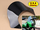 Lip Windshield Windscreen Shield Fairing for Harley Sportster Softail Dyna Black