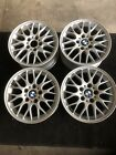 BMW 3 SERIES WHEELS 2001 2006 325i 16x7 ALLOY FORKED SPOKED WHEELS RIMS SET