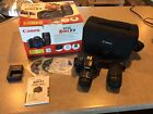 Canon EOS Rebel T3 1100D 122MP Digital SLR Camera w EF S 18 55mm IS lens+more