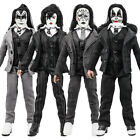 KISS 8 Inch Action Figures Dressed to Kill Series Set of all 4 LOOSE