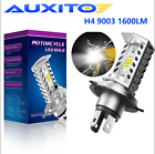 H4 9003 Motorcycle LED Headlight Bulbs HB2 HS1 P43t 6500K 1600lm CREE Hi/Lo Beam