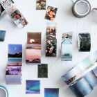 Retro Stamps Tape Stickers Kawaii Stationery DIY Scrapbooking Diary Stickers