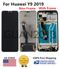 WOW For Huawei Y9 2019 LCD Touch Screen Digitizer Frame JKM-LX1 JKM-LX2 JKM-LX3