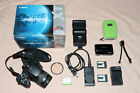 CANON XT EOS 350D DSLR CAMERA 22 55MM f4 56 USM CHARGER BATTERY LOT FINEPIX Z70
