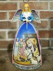Jim Shore Heartwood Creek Angel Nativity Figurine A Star Shall Guide Us