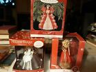 Barbie Lot Of 3  Holiday Ornaments 25th Anniversary Edition, Holiday Barbie. NIB