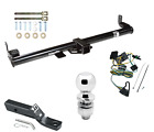 Trailer Tow Hitch For 1997 Jeep Wrangler TJ Complete Package Wiring