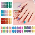 Nail Polish Strips Sticker Gradient Self Adhesive Decals Manicure Tips Decor