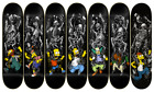 ZERO Skateboards THE SIMPSONS Springfield Massacre RARE Complete 7 Deck Series