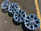 18 FORD F250 F350 LIMITED OEM FACTORY STOCK WHEELS RIMS CHROME SUPERDUTY 8X170
