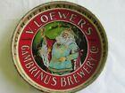 Vintage New York V. Loewer's Gambrinus Brewery PRE Prohibition Beer Tray
