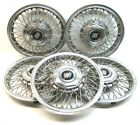 Five 1986 1990 Buick Century LeSabre Park Ave locking wire wheel covers