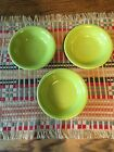 Fiesta Ware NEW STACKING BERRY FRUIT Bowl LEMONGRASS MADE IN THE USA X3