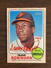 2017 Topps Heritage Frank Robinson Real One Red Ink Auto Autograph