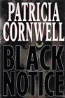 Black Notice Patricia Cornwell SIGNED Bookplate First Edition