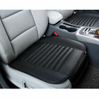 Black PU Cushion Full Half Surround Front Seat Cover Protect Mat Universal Fit