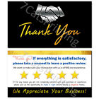 Thank You Cards for eBay etsy Shopify Sellers Order Notes Set 100 250 500 1000