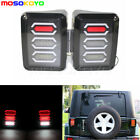 2x LED Tail Lights Rear Brake Turn Signal Taillight For Jeep Wrangler JK07 16